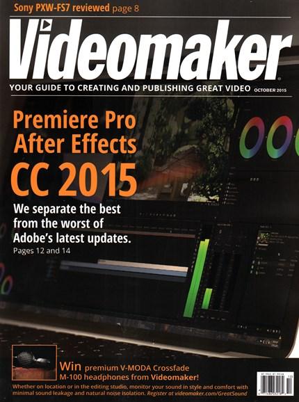 Videomaker Cover - 10/1/2015