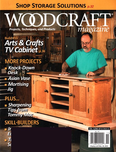 Woodcraft Cover - 10/1/2015