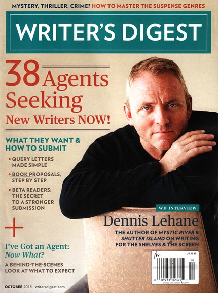 Writer's Digest Cover - 10/1/2015