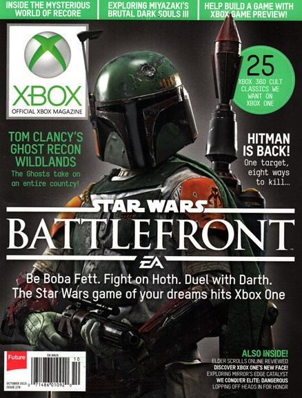 Official Xbox Magazine Cover - 10/1/2015
