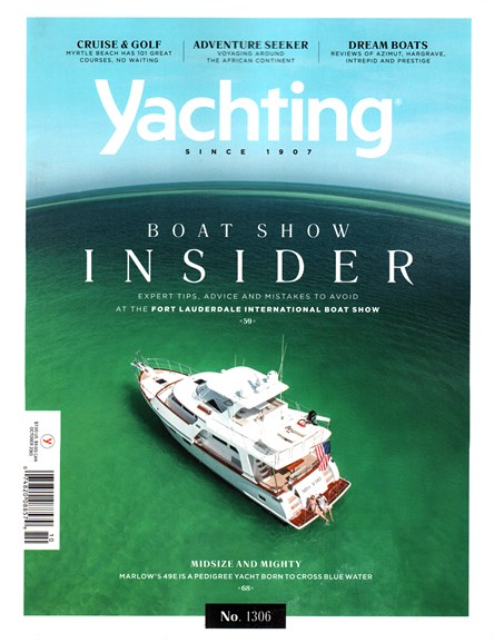 Yachting Cover - 10/1/2015