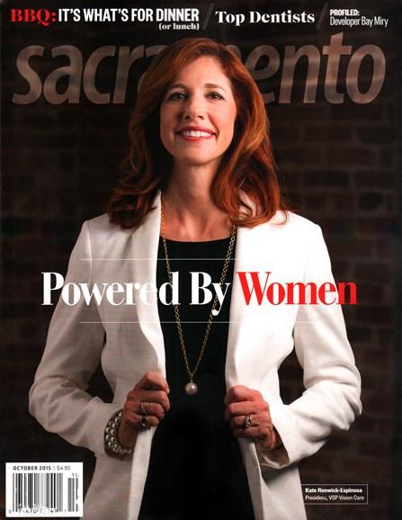 Sacramento Cover - 10/1/2015