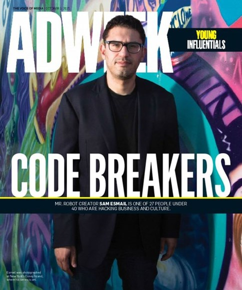 Adweek Cover - 10/5/2015