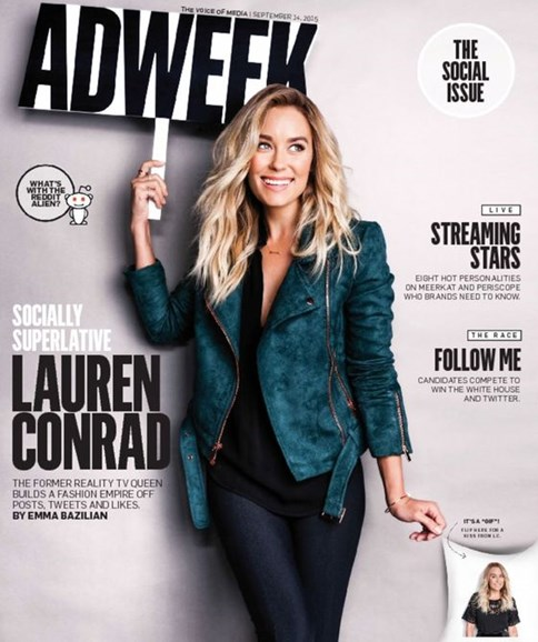 Adweek Cover - 9/14/2015