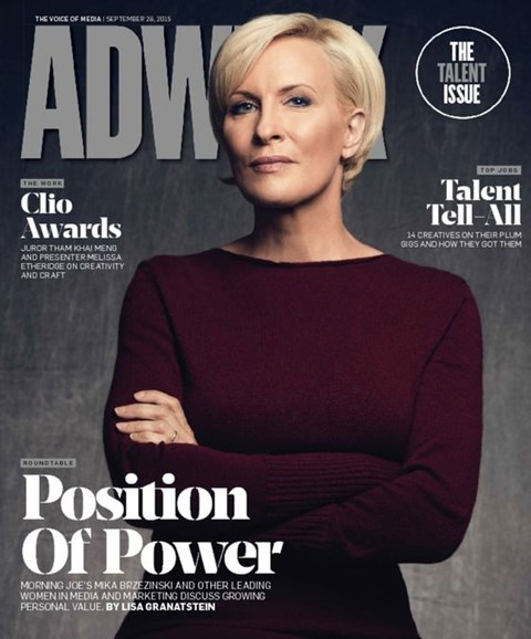 Adweek Cover - 9/28/2015