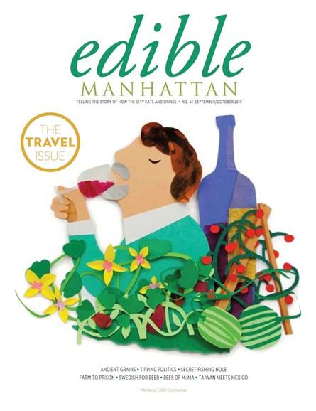 Edible Manhattan Cover - 9/1/2015