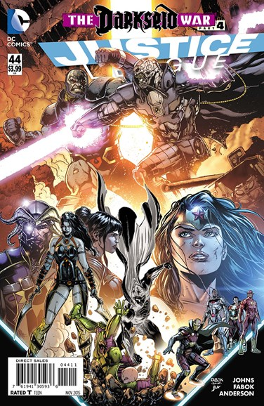 Justice League Cover - 11/1/2015