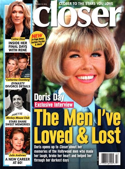 Closer Cover - 10/19/2015