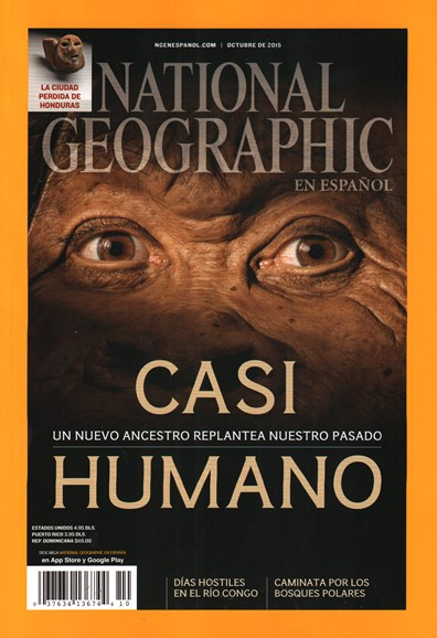 National Geographic En Español Cover - 10/1/2015