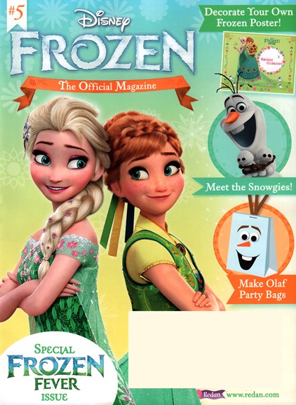 Disney Frozen Cover - 11/1/2015
