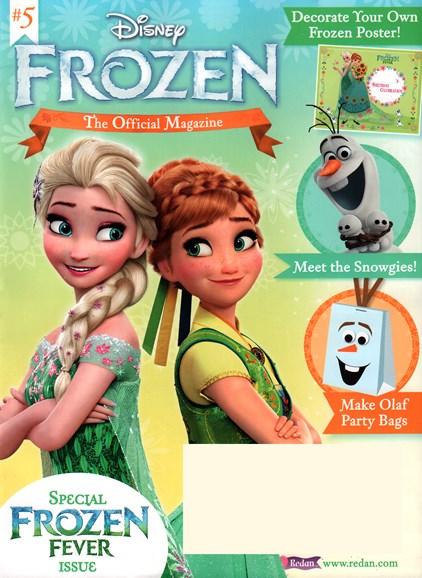 Disney Frozen Cover - 11/1/2015