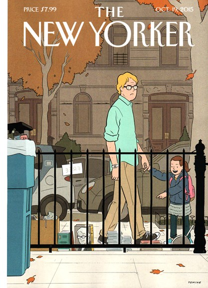 The New Yorker Cover - 10/19/2015