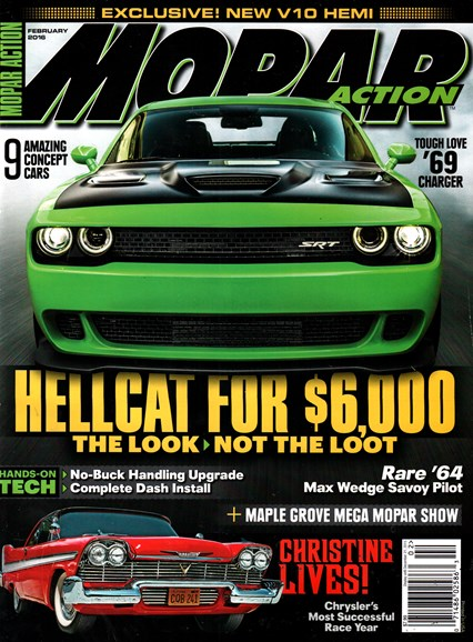 Mopar Action Cover - 2/1/2016