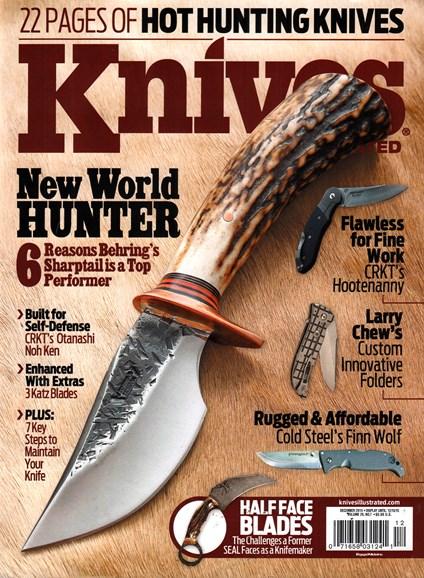 Knives Illustrated Cover - 12/1/2015