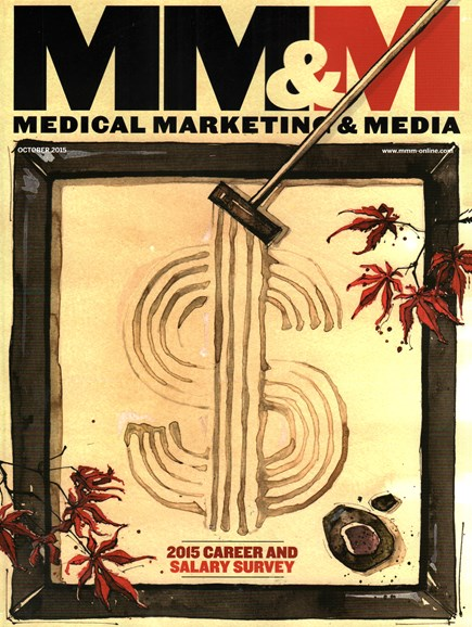 Medical Marketing & Media Cover - 10/1/2015