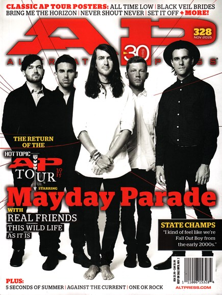 Alternative Press Cover - 11/1/2015