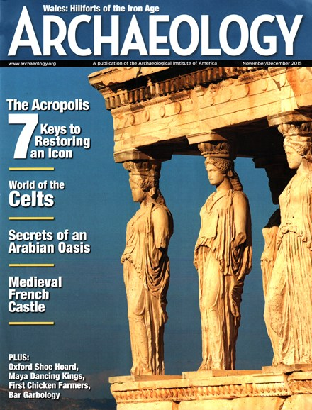 Archaeology Cover - 11/1/2015