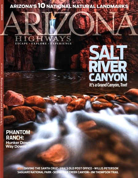 Arizona Highways Cover - 11/1/2015
