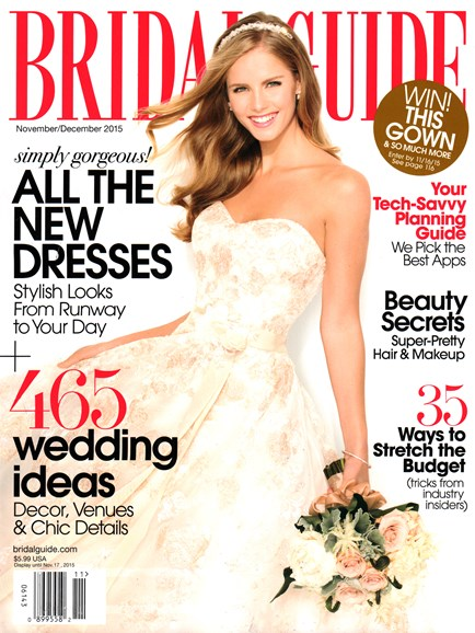 Bridal Guide Cover - 11/1/2015