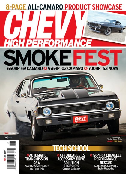 Chevy High Performance Cover - 11/1/2015