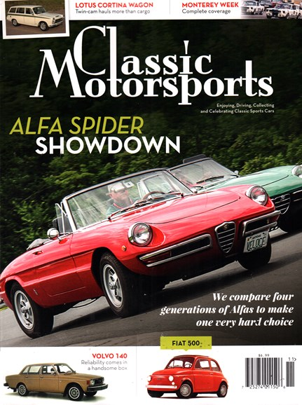 Classic Motorsports Cover - 11/1/2015