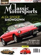 Classic Motorsports Magazine 11/1/2015