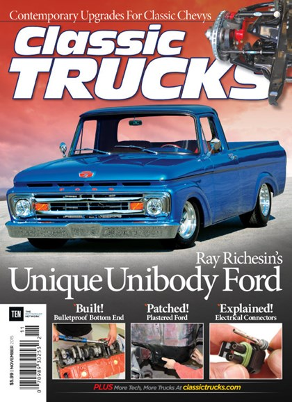 Classic Trucks Cover - 11/1/2015