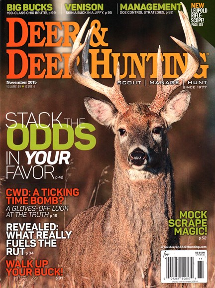 Deer & Deer Hunting Cover - 11/1/2015