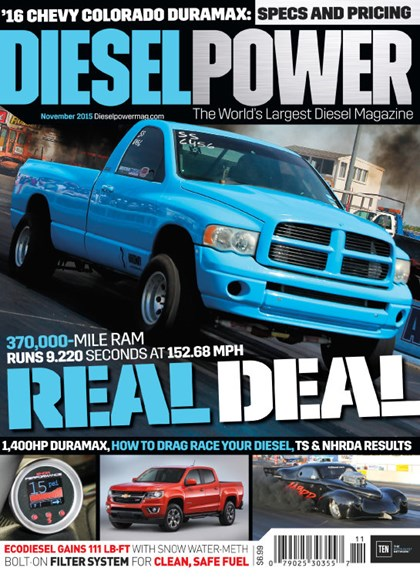 Diesel Power Cover - 11/1/2015
