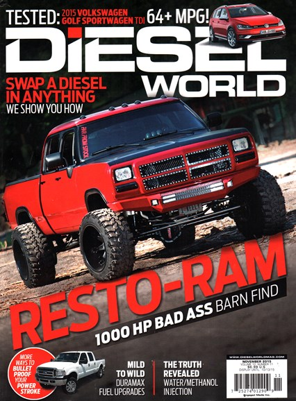 Diesel World Cover - 11/1/2015