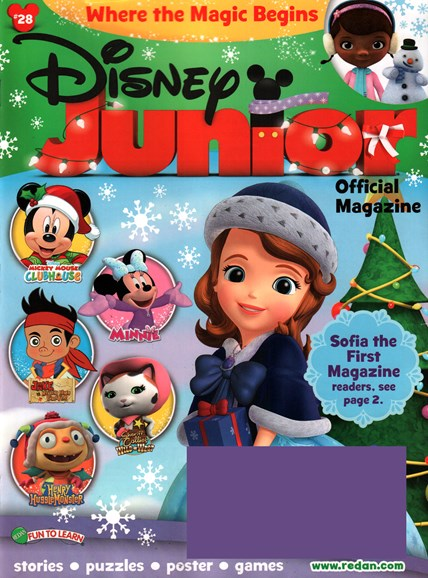 Disney Junior Cover - 11/1/2015