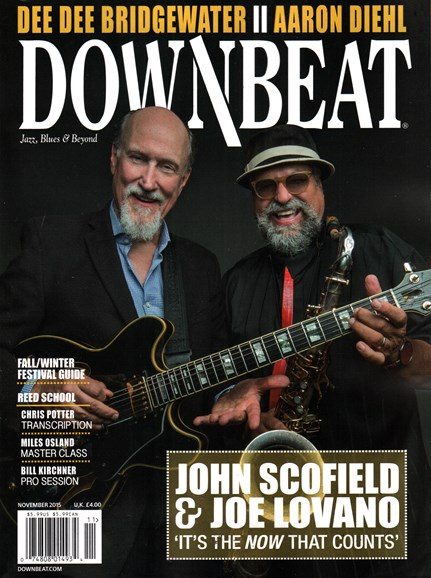 DownBeat Cover - 11/1/2015