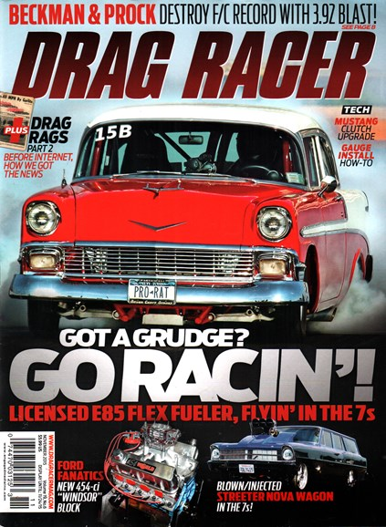 Drag Racer Cover - 11/1/2015