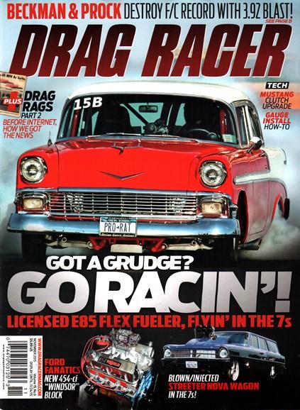 Drag Racer Cover - 11/1/2015