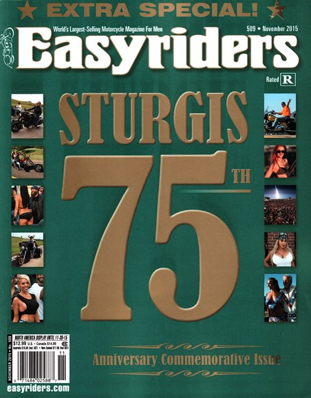 Easyriders Cover - 11/1/2015