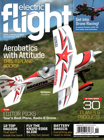 Electric Flight Cover - 11/1/2015