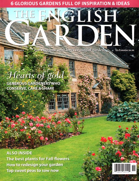 The English Garden Cover - 11/1/2015