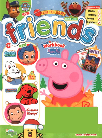Preschool Friends Cover - 11/1/2015
