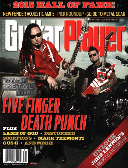 Guitar Player Cover - 11/1/2015