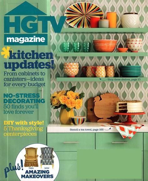 HGTV Cover - 11/1/2015