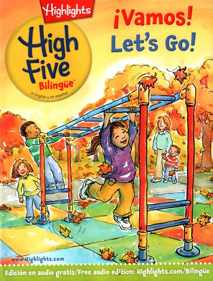 Highlights High Five Bilingue Cover - 11/1/2015