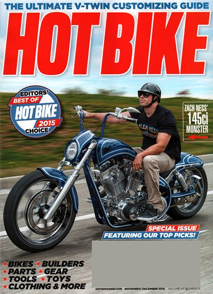 Hot Bike Cover - 11/1/2015