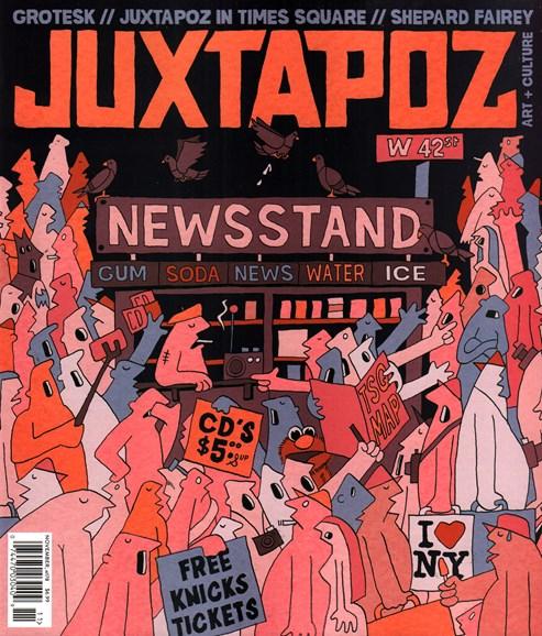 Juxtapoz Cover - 11/1/2015