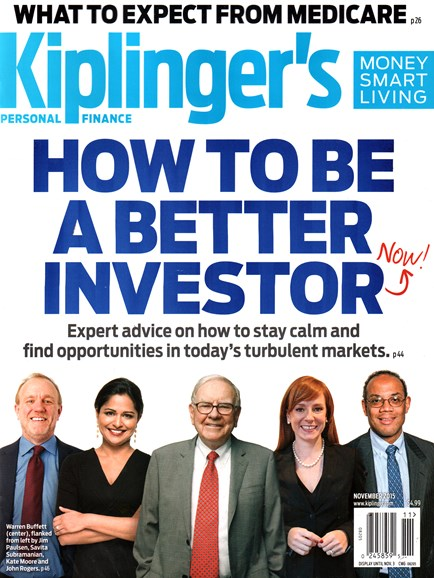Kiplinger's Personal Finance Cover - 11/1/2015