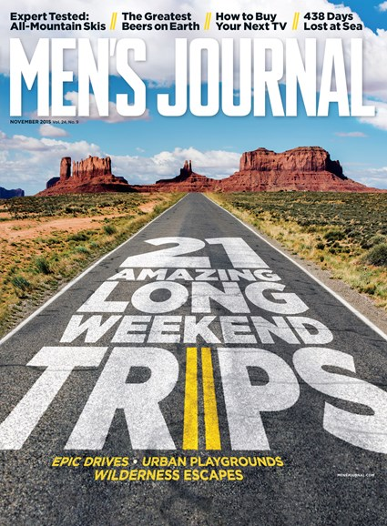 Men's Journal Cover - 11/1/2015