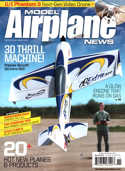 Model Airplane News Cover - 11/1/2015