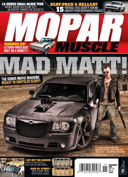 Mopar Muscle Cover - 11/1/2015