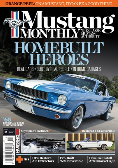 Mustang Monthly Cover - 11/1/2015