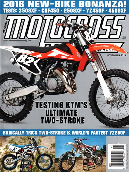 Motocross Action Cover - 11/1/2015