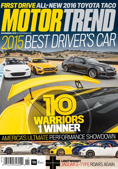 Motor Trend Cover - 11/1/2015
